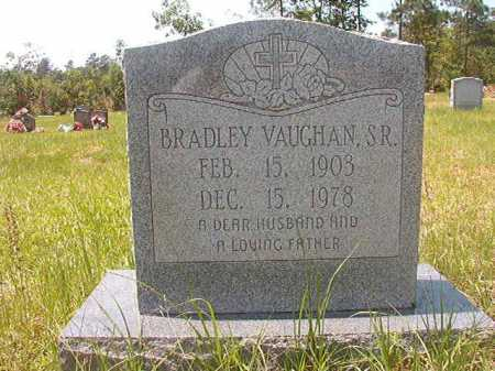 VAUGHAN, SR, BRADLEY - Calhoun County, Arkansas | BRADLEY VAUGHAN, SR - Arkansas Gravestone Photos