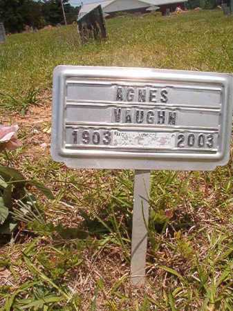 VAUGHN, AGNES - Calhoun County, Arkansas | AGNES VAUGHN - Arkansas Gravestone Photos