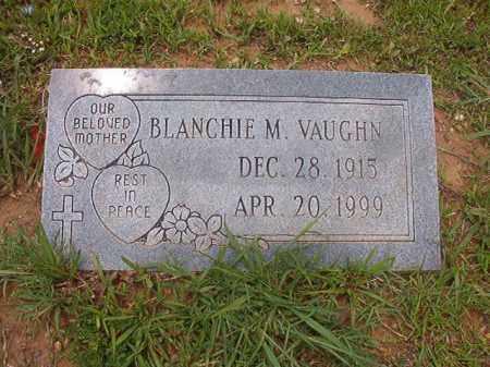 VAUGHN, BLANCHIE M - Calhoun County, Arkansas | BLANCHIE M VAUGHN - Arkansas Gravestone Photos