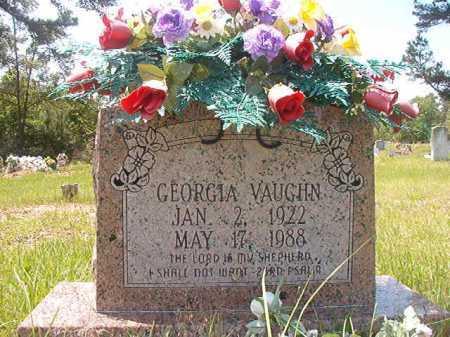 VAUGHN, GEORGIA LEA - Calhoun County, Arkansas | GEORGIA LEA VAUGHN - Arkansas Gravestone Photos