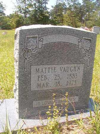 VAUGHN, MATTIE - Calhoun County, Arkansas | MATTIE VAUGHN - Arkansas Gravestone Photos