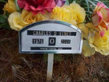 VINES, CHARLES D - Calhoun County, Arkansas | CHARLES D VINES - Arkansas Gravestone Photos