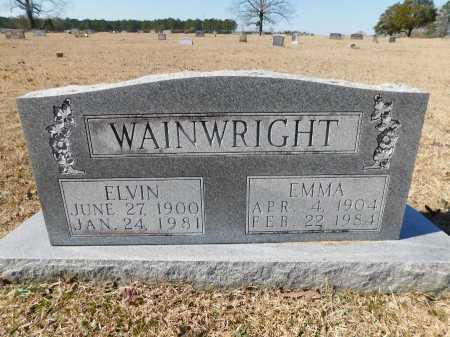 WAINWRIGHT, EMMA - Calhoun County, Arkansas | EMMA WAINWRIGHT - Arkansas Gravestone Photos