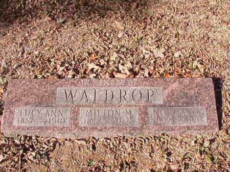 WALDROP, MILTON M - Calhoun County, Arkansas | MILTON M WALDROP - Arkansas Gravestone Photos