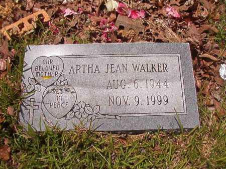 WALKER, ARTHA JEAN - Calhoun County, Arkansas   ARTHA JEAN WALKER - Arkansas Gravestone Photos