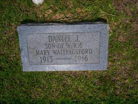 WALLINGSFORD, DANIEL J - Calhoun County, Arkansas | DANIEL J WALLINGSFORD - Arkansas Gravestone Photos