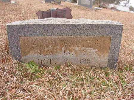 WALTER, AUD - Calhoun County, Arkansas   AUD WALTER - Arkansas Gravestone Photos