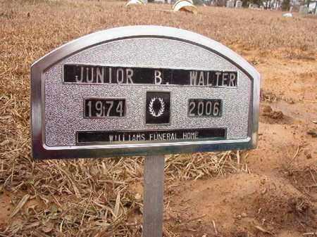 WALTER, JUNIOR B - Calhoun County, Arkansas | JUNIOR B WALTER - Arkansas Gravestone Photos
