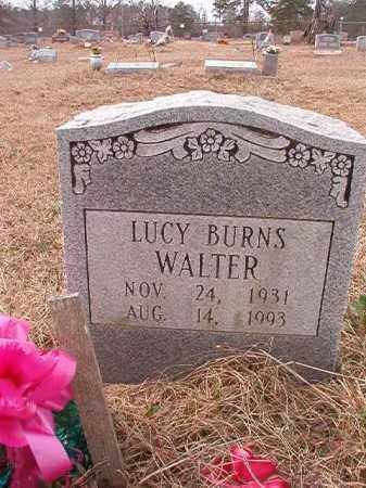 BURNS WALTER, LUCY - Calhoun County, Arkansas | LUCY BURNS WALTER - Arkansas Gravestone Photos