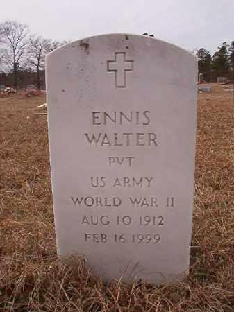 WALTER (VETERAN WWII), ENNIS - Calhoun County, Arkansas | ENNIS WALTER (VETERAN WWII) - Arkansas Gravestone Photos