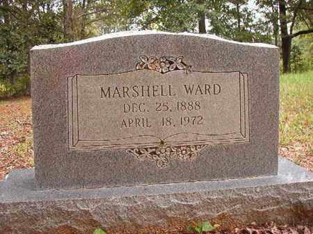 WARD, MARSHELL - Calhoun County, Arkansas | MARSHELL WARD - Arkansas Gravestone Photos