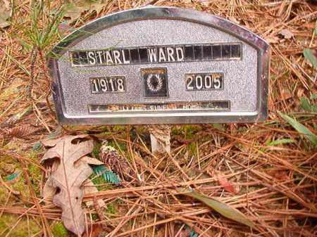 WARD, STARL - Calhoun County, Arkansas | STARL WARD - Arkansas Gravestone Photos