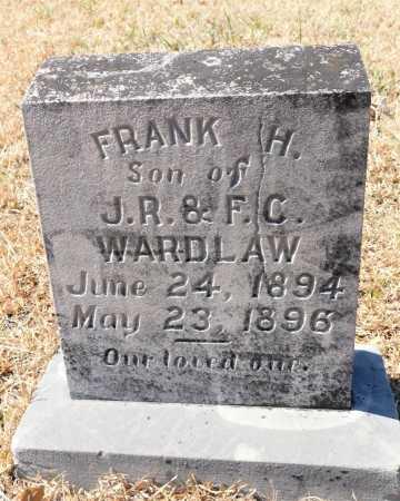 WARDLAW, FRANK H - Calhoun County, Arkansas   FRANK H WARDLAW - Arkansas Gravestone Photos