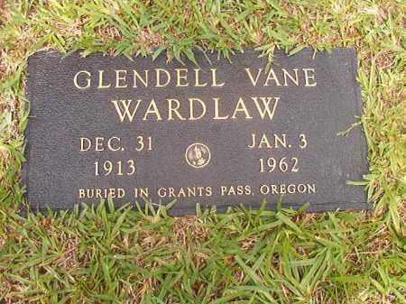 WARDLAW, GLENDELL VANE - Calhoun County, Arkansas   GLENDELL VANE WARDLAW - Arkansas Gravestone Photos