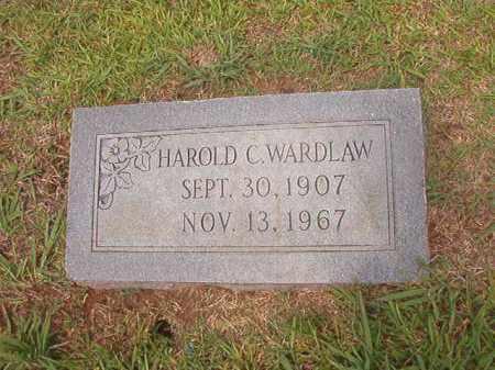WARDLAW, HAROLD C - Calhoun County, Arkansas | HAROLD C WARDLAW - Arkansas Gravestone Photos