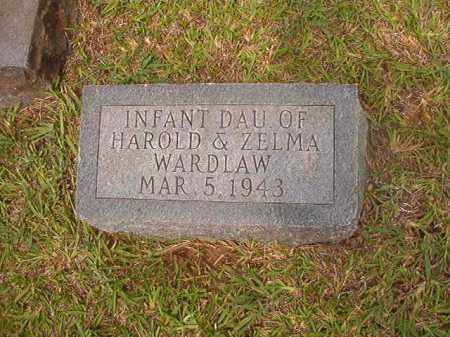 WARDLAW, INFANT DAUGHTER - Calhoun County, Arkansas | INFANT DAUGHTER WARDLAW - Arkansas Gravestone Photos