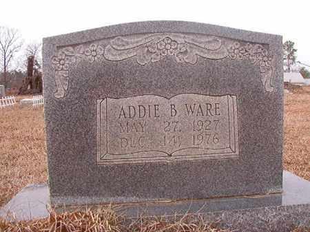 WARE, ADDIE B - Calhoun County, Arkansas | ADDIE B WARE - Arkansas Gravestone Photos