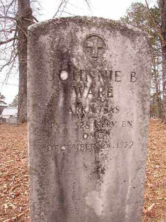 WARE (VETERAN), JOHNNIE B - Calhoun County, Arkansas   JOHNNIE B WARE (VETERAN) - Arkansas Gravestone Photos