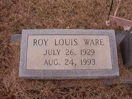 WARE, ROY LOUIS - Calhoun County, Arkansas | ROY LOUIS WARE - Arkansas Gravestone Photos
