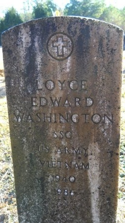 WASHINGTON (VETERAN VIET), LOYCE EDWARD - Calhoun County, Arkansas | LOYCE EDWARD WASHINGTON (VETERAN VIET) - Arkansas Gravestone Photos