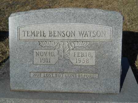 WATSON, TEMPIE - Calhoun County, Arkansas   TEMPIE WATSON - Arkansas Gravestone Photos