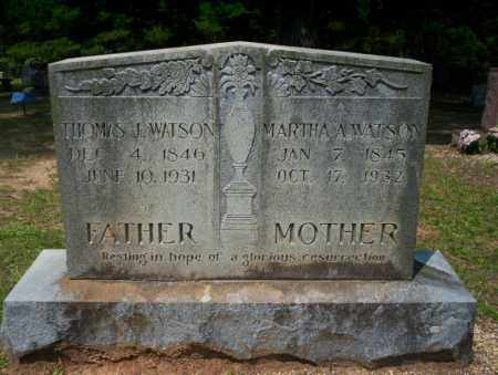 WATSON, MARTHA ANN - Calhoun County, Arkansas | MARTHA ANN WATSON - Arkansas Gravestone Photos