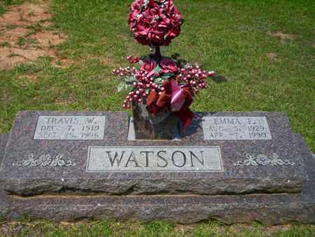 WATSON, EMMA F - Calhoun County, Arkansas | EMMA F WATSON - Arkansas Gravestone Photos