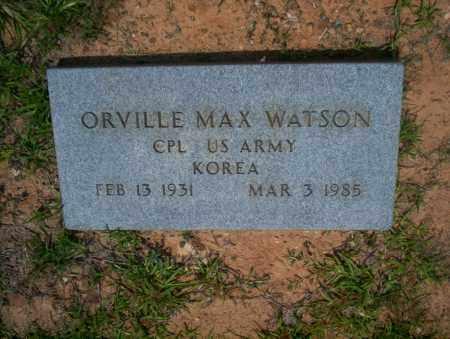 WATSON (VETERAN KOR), ORVILLE MAX - Calhoun County, Arkansas | ORVILLE MAX WATSON (VETERAN KOR) - Arkansas Gravestone Photos