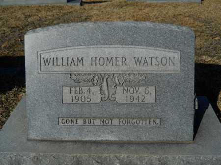 WATSON, WILLIAM HOMER - Calhoun County, Arkansas   WILLIAM HOMER WATSON - Arkansas Gravestone Photos
