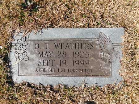 WEATHERS, O T - Calhoun County, Arkansas | O T WEATHERS - Arkansas Gravestone Photos
