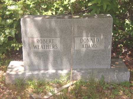 ADAMS, DONALD - Calhoun County, Arkansas | DONALD ADAMS - Arkansas Gravestone Photos