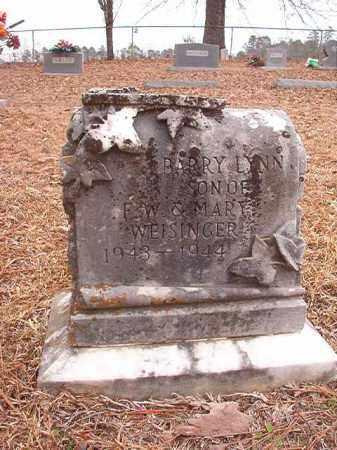 WEISINGER, BARRY LYNN - Calhoun County, Arkansas   BARRY LYNN WEISINGER - Arkansas Gravestone Photos