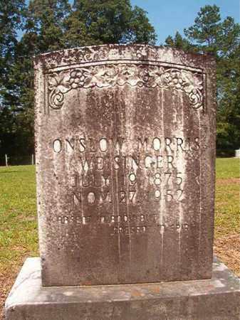 WEISINGER, ONSLOW MORRIS - Calhoun County, Arkansas | ONSLOW MORRIS WEISINGER - Arkansas Gravestone Photos