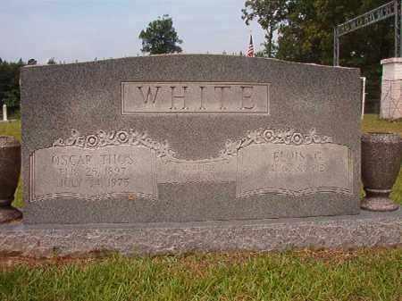 WHITE, OSCAR THOMAS - Calhoun County, Arkansas   OSCAR THOMAS WHITE - Arkansas Gravestone Photos