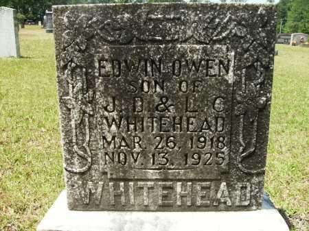 WHITEHEAD, EDWIN OWEN - Calhoun County, Arkansas | EDWIN OWEN WHITEHEAD - Arkansas Gravestone Photos
