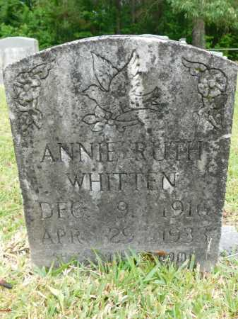WHITTEN, ANNIE RUTH - Calhoun County, Arkansas | ANNIE RUTH WHITTEN - Arkansas Gravestone Photos