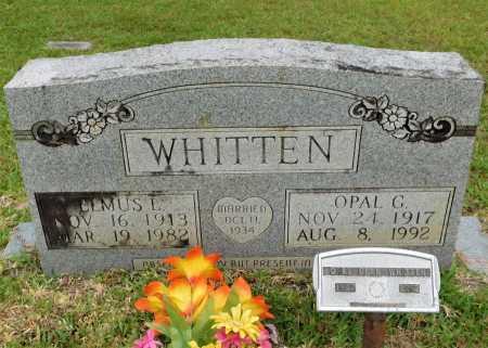 WHITTEN, OPAL G - Calhoun County, Arkansas   OPAL G WHITTEN - Arkansas Gravestone Photos