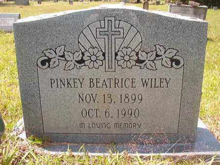 WILEY, PINKEY BEATRICE - Calhoun County, Arkansas | PINKEY BEATRICE WILEY - Arkansas Gravestone Photos