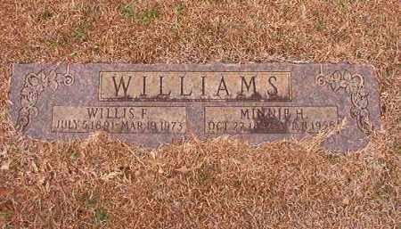 WILLIAMS, MINNIE - Calhoun County, Arkansas | MINNIE WILLIAMS - Arkansas Gravestone Photos