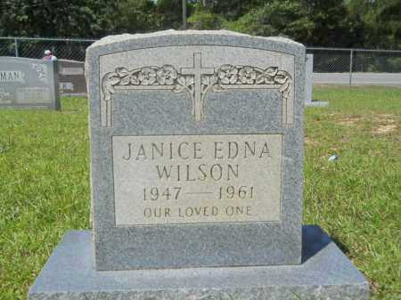 WILSON, JANICE EDNA - Calhoun County, Arkansas | JANICE EDNA WILSON - Arkansas Gravestone Photos