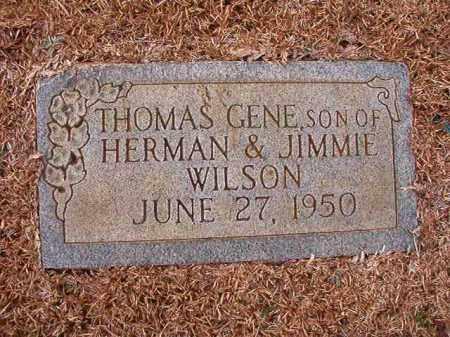 WILSON, THOMAS GENE - Calhoun County, Arkansas | THOMAS GENE WILSON - Arkansas Gravestone Photos