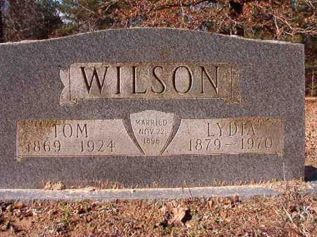 WILSON, LYDIA - Calhoun County, Arkansas   LYDIA WILSON - Arkansas Gravestone Photos