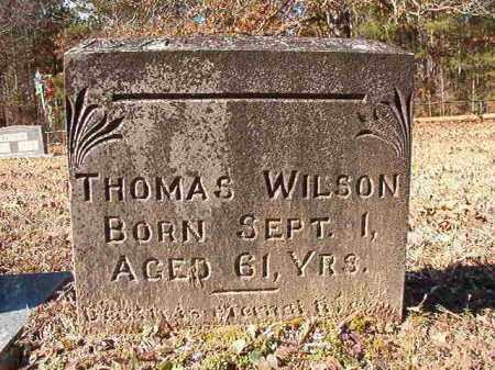 WILSON, THOMAS - Calhoun County, Arkansas   THOMAS WILSON - Arkansas Gravestone Photos