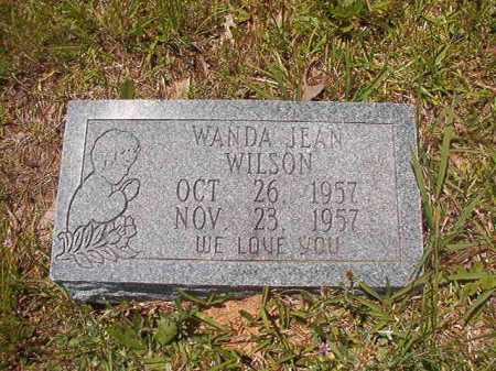 WILSON, WANDA JEAN - Calhoun County, Arkansas | WANDA JEAN WILSON - Arkansas Gravestone Photos