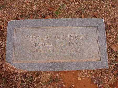 WISINGER, GUY E - Calhoun County, Arkansas | GUY E WISINGER - Arkansas Gravestone Photos