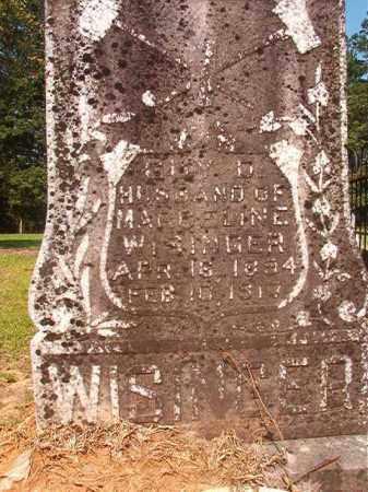 WISINGER, GUY D - Calhoun County, Arkansas | GUY D WISINGER - Arkansas Gravestone Photos