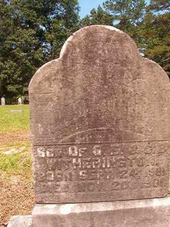 WITHERINGTON, INFANT SON - Calhoun County, Arkansas | INFANT SON WITHERINGTON - Arkansas Gravestone Photos