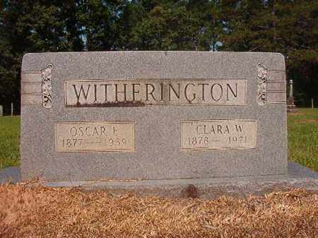 WITHERINGTON, OSCAR EUGENE - Calhoun County, Arkansas | OSCAR EUGENE WITHERINGTON - Arkansas Gravestone Photos
