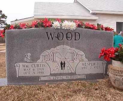 WOOD, WM CURTIS - Calhoun County, Arkansas   WM CURTIS WOOD - Arkansas Gravestone Photos