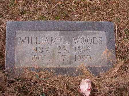 WOODS, WILLIAM L - Calhoun County, Arkansas | WILLIAM L WOODS - Arkansas Gravestone Photos